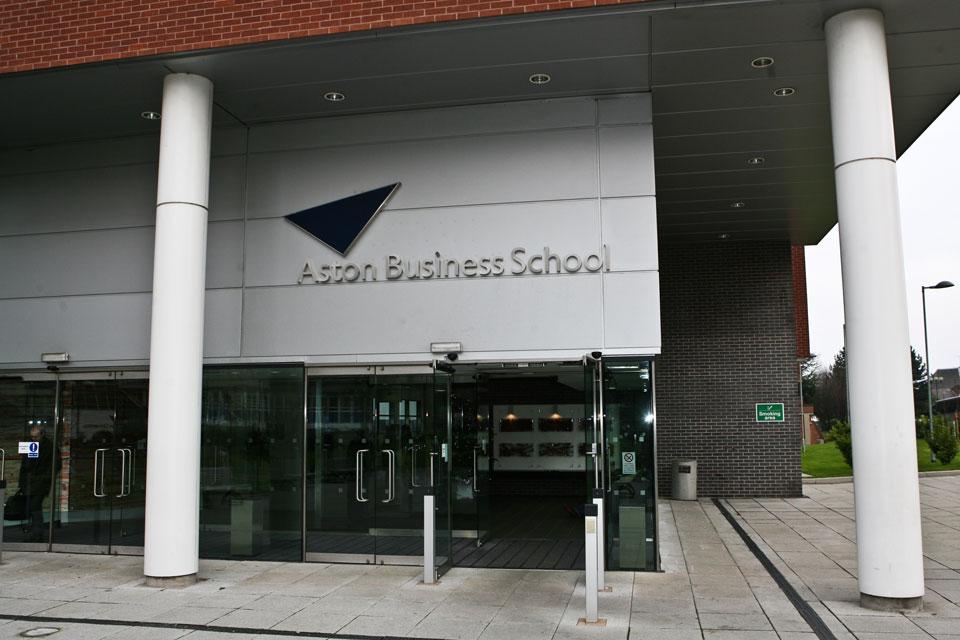 Aston Business School - Lettering and Illumination