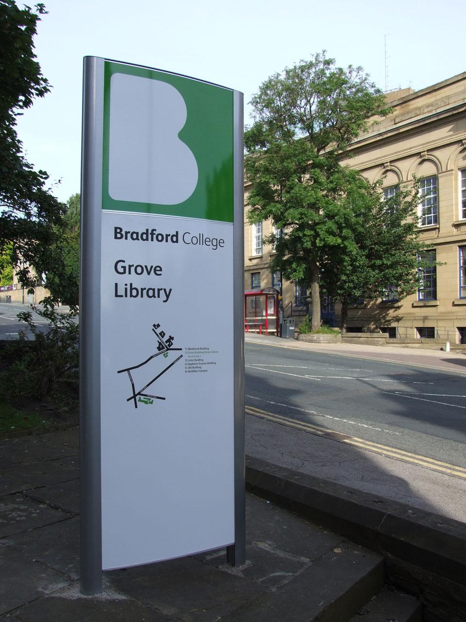 Bradford College - Campus Maps