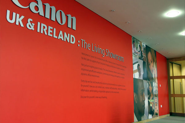 Canon - Environmental Graphics