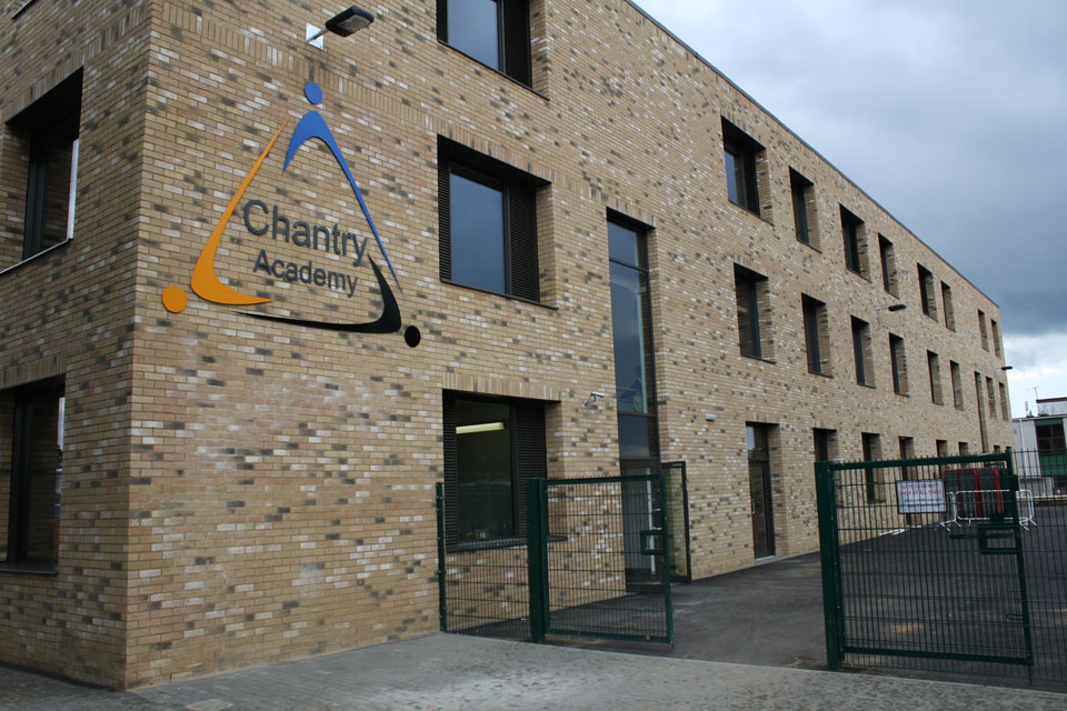 Chantry Academy Lettering and Illumination