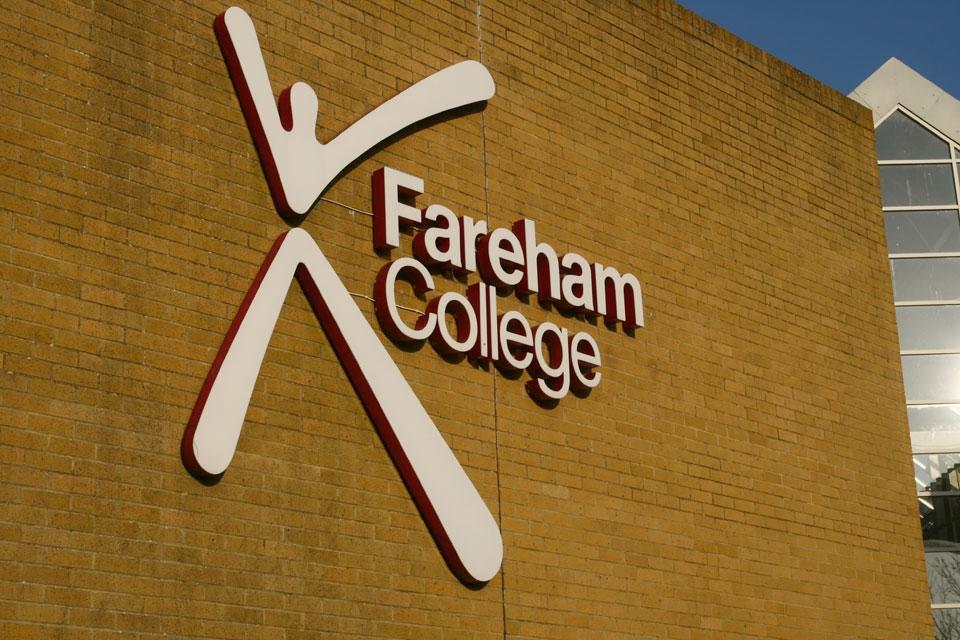 Fareham College - Lettering and Illumination