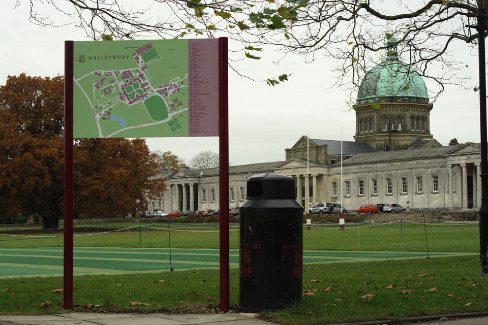 Haileybury Campus Maps
