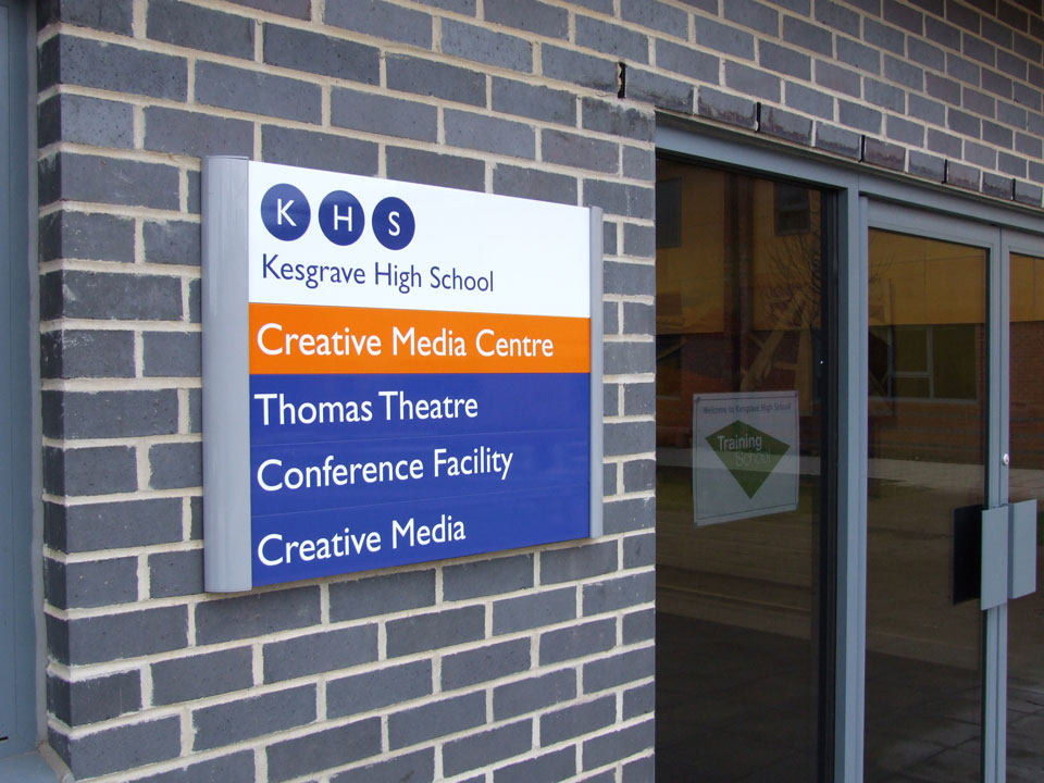 Kesgrave High School Entrance and Building Identity