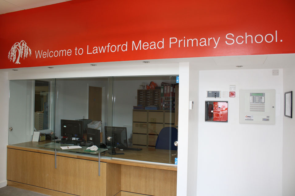 Lawford Mead Primary School Internal Signs