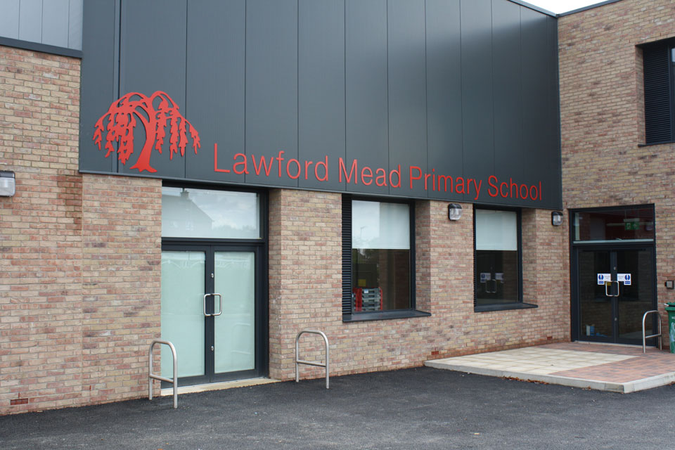 Lawford Mead Primary School Lettering and Illumination