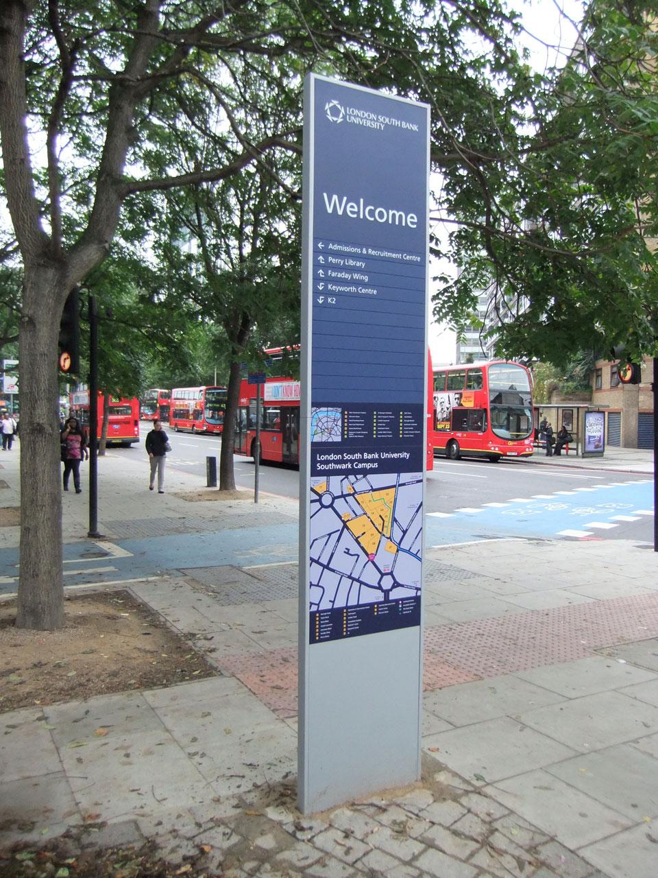 London Southbank University - Campus Maps