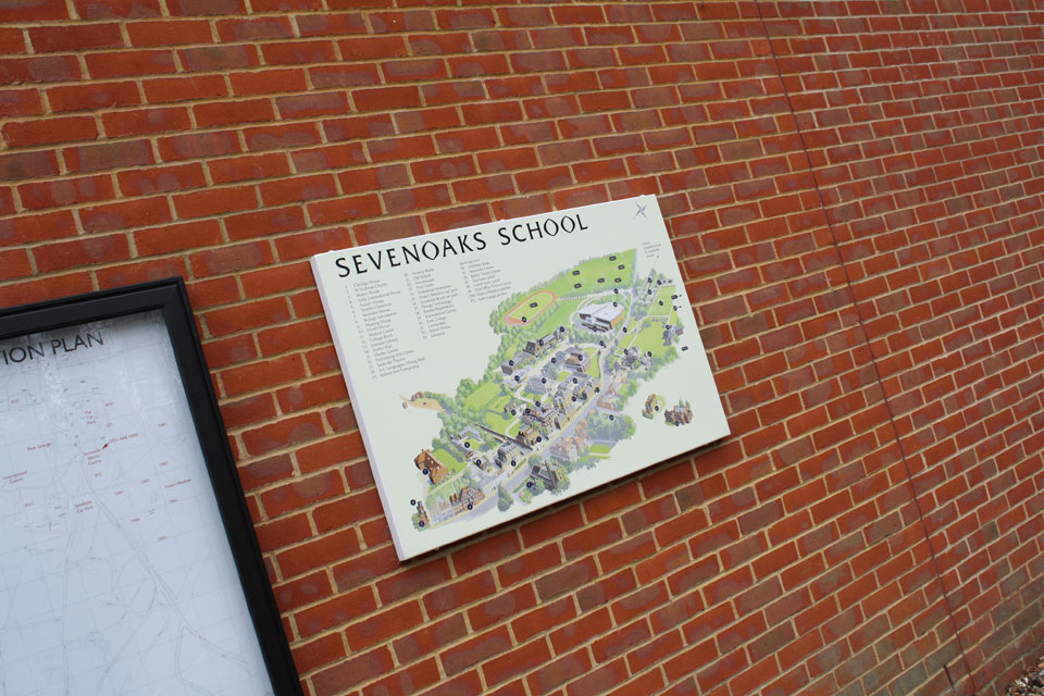 Sevenoaks School Campus Map