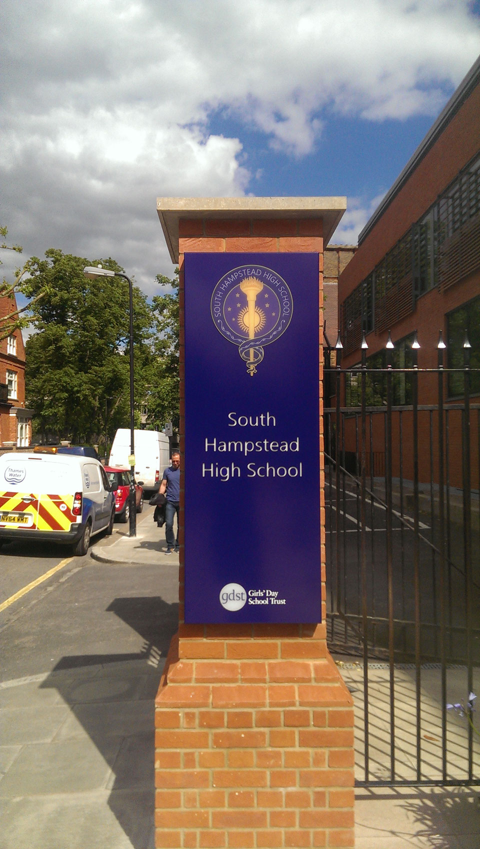 South Hampstead High School Lettering and Illumination