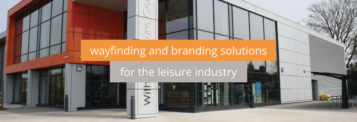 Wayfinding and branding solutions for the leisure industry
