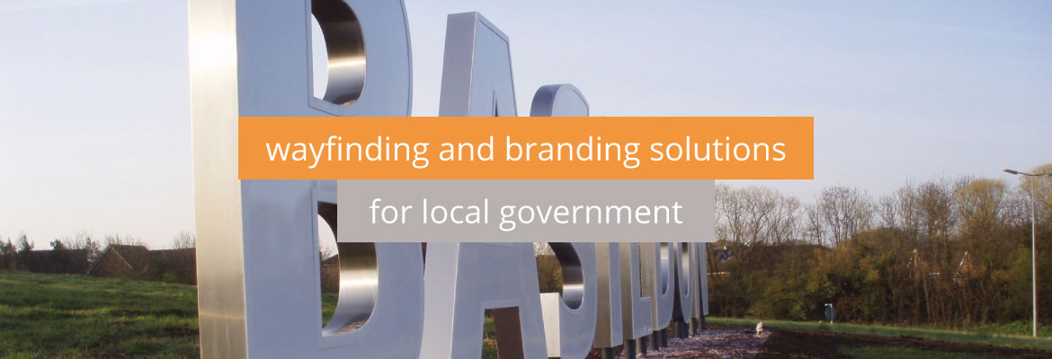 Wayfinding and branding solutions for local government