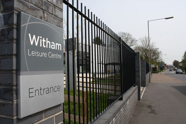 Witham Leisure Centre - ExternalWall Sign