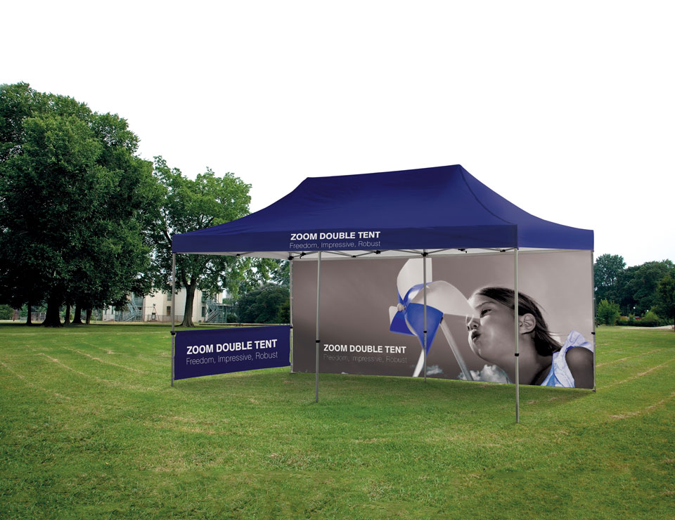 External Banners - Zoom Tents