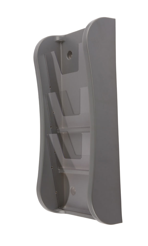 Paper Brochure Displays - Wallmounted Literary Dispenser