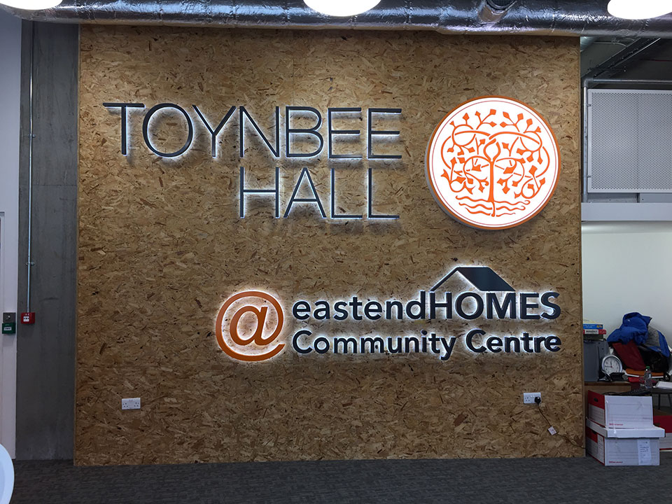 Toynbee Hall East End Homes Community Centre